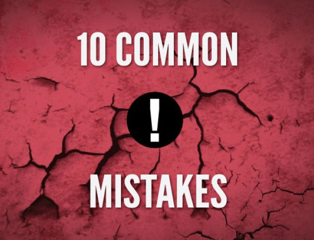 10 Web Design Mistakes